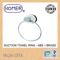 suction cup bathroom accessories products towel ring, towel holder, towel bar