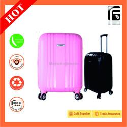 360 degree rotational wheels/girls travel luggage HOT SELLING Dencent ABS Luggage Travel Set