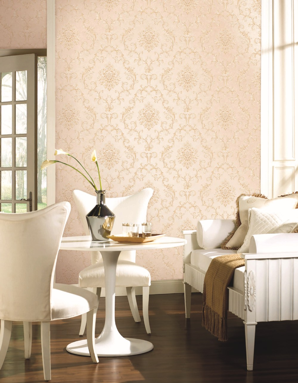 Italiaanse stijl non  woven behang voor de woonkamer wallpapers ...