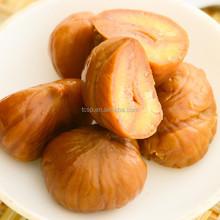 organico e sana castagne arrosto sbucciate snack