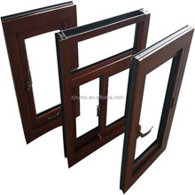 XIANG YING new design aluminum wood composite window