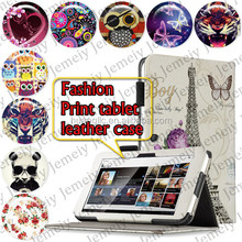 """For Sony Tablet S1 9.4"""" Android Printing Leather Folio Media Stand Case Cover Bag PC Tablet case"""