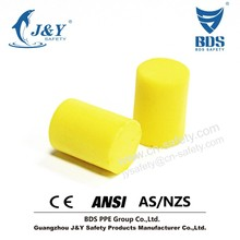 disposable ear cover, GuangZhou High efficient Cylindrical Earplugs / Pu Earplugs with CE