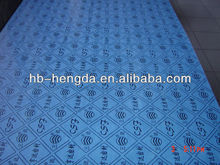 Asbestos-free rubber sheet for OIL-resisting(blue,green,yellow)