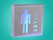 1W LED Aluminum Sign Light wall mounted emergency lre chargeableemergency exit sign