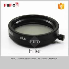 2015 nuevo 30.5 mm lineal polarizador cámara polarizador bandpass filtros FIFO-PLL ( m30. 5 x 0.5 )