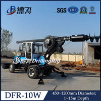 DFR-10W truck mounted full hydraulic rotation bore pile driving machine