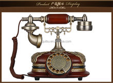 Old style wooden desk telephone antique phone, novelty phones, old telephone, corded telephone, antique desk telephone
