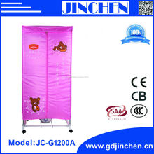 Jinchen 1200 W ropa portátiles secadora con temporizador
