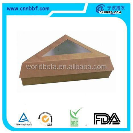 BF04B13-Brown pie box with window