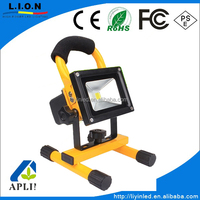 Industrial Usage for 30W flood light , rechargeable flood light for emergency place five colors