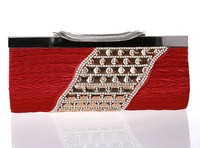 2015 Grace patent Crystal clutch evening bag for women