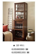 HotelHome furniture antique wooden display wine cabinet ZLY-311