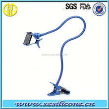 Table Bed Stand Bracket Dual Clip for Mobile Phones