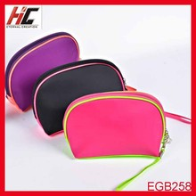 Promotional Newest small cosmetic bag plain makeup bag makeup artist bag