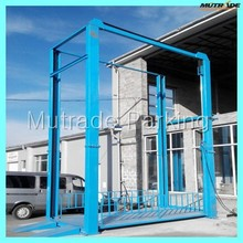 4 post verticle transport cargo car parking hoist
