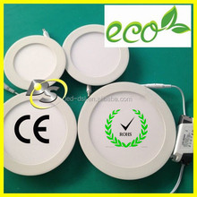 DS Mini Round or Square Recessed 3w/6w/9w/12w/15w/18w LED Panel Light for Ceiling