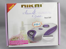 NEW 2014 Hot Sale electric hair remover for women 2 in 1 set laser hair removal electric epilator and shaver