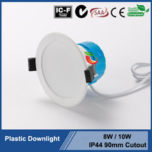 10W 15W Polyamide plastic led downlights with internal driver dimmable led downlight with Australian plug CE ROHS SAA