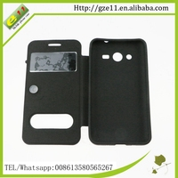PU leather PC led phone case for Samsung Galaxy Core2 G355h