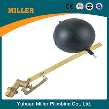 Brass Float valve with plastic ball /floating flanged ball valvefloating flanged ball valve