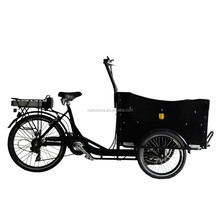 transport children electric vespa tricycle cargo