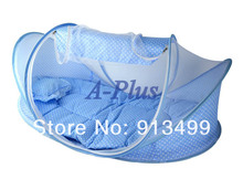 5pcs/lot Hot sale Baby Mosquito Net Cotton-padded Mattress Pillow Tent Foldable Portable baby netting 11568