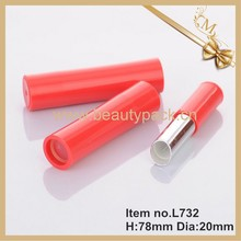 hot selling empty red lipstick tube