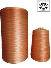 Dipped polyester thread for air condition duct