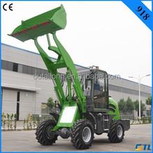 1 ton wheel loader farm trailer for garden tractor loader 918 with CE