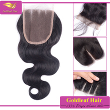 New product of china 7a mongolian hair lace closure natural color best quality