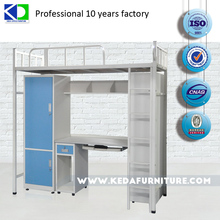Good quality special offer metal dormitory bunk double bed