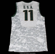 OEM youth basketball jersey for US Team