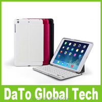 Free Shipping Mini Aluminium Backlit Bluetooth Keyboard for iPad Mini 3 2 1