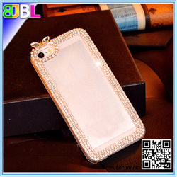 Special for Lady ! Diamond Luxury Crystal cell phone TPU case covers for iphone 5/5s