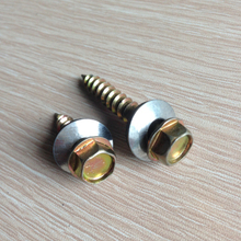 carbon steel socket head self tapping screw galvanized
