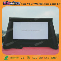 2015 China Hot outdoor inflatable movie screen for sale