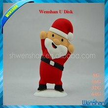 New Santa Claus otg usb flash drive for christmas promotion