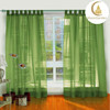 Brazil good price tull fabric voile used stage curtains for sale for bed room