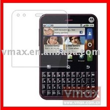 Ultra Clear screen protector for MOTO MB502 CHARM