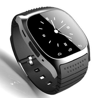 2015 New Smart Bluetooth Watch M26 Smart Wrist Watch Phone Mate For IOS Android iphone Samsung HTC LG