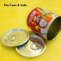 (L3) Easy Open Aluminium Tin Can Lid For Food Can Top Ends With Different Sizes From China Manufacturer