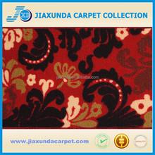 Flower pattern polyester rubber back cutting mat
