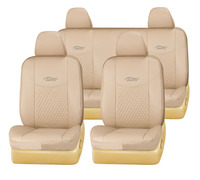 beige color PVC leather car seat cover in beige seat cover for patrol/navara/sunny/maxima/pathfinder car seat cover TP-027