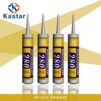 acrylic plastic liquid adhesive caulking glue 100%flexible