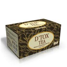 D'Tox Tea Herbal Supplement Botanical Tea for body detoxification