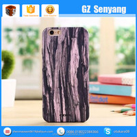China Supplier Wood Grain TPU Soft Mobile Phone Case for iphone 6s