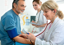 Palm type aneroid sphygmomanometer/Blood Pressure