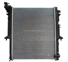 high performance auto radiator aluminum radiator spare parts for Axor and Actros truck