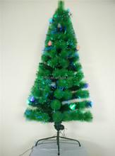 2015 Popular Xmas Tree Green PVC Mixed Pine Needle Fiber Optic Christmas Tree, 180CM/6FT Shopping Mall Christmas Tree Decoration